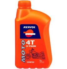 Repsol Moto V-TWIN 4T 20W50 motorolaj