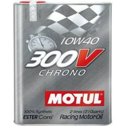 MOTUL 300V Chrono 10W40 versenyautó olaj