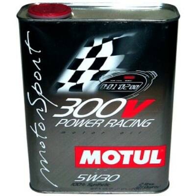 MOTUL 300V Power Racing 5W30 versenyautó olaj