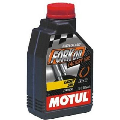 MOTUL Fork Oil light   Factory Line 5W villaolaj